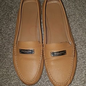 Coach Tan Loafers